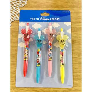 Disney - ディズニー バルーン ボールペン 4本セット