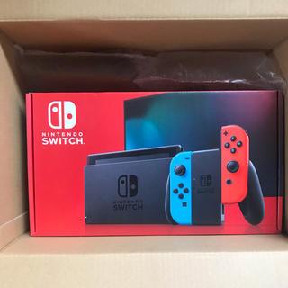 Nintendo Switch - Nintendo switch ネオン 本体 新品未使用 任天堂 スイッチ