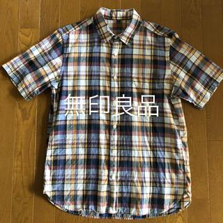 ムジルシリョウヒン(MUJI (無印良品))の無印良品 半袖シャツ M(シャツ)