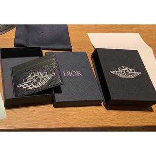 Dior - AIR DIOR Logo ジョーダン  カードケース ネイビー