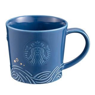 スターバックスコーヒー(Starbucks Coffee)のスターバックス :ブルー クジラ マグ ロゴ スタバ 台湾 限定商品(グラス/カップ)