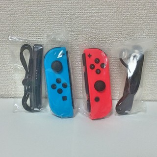 ジョイコン switch スイッチ コントローラー ネオンレッド ネオンブルー