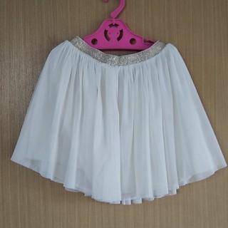 ユニクロ(UNIQLO)のユニクロ キッズ M ヒラヒラスカート(スカート)