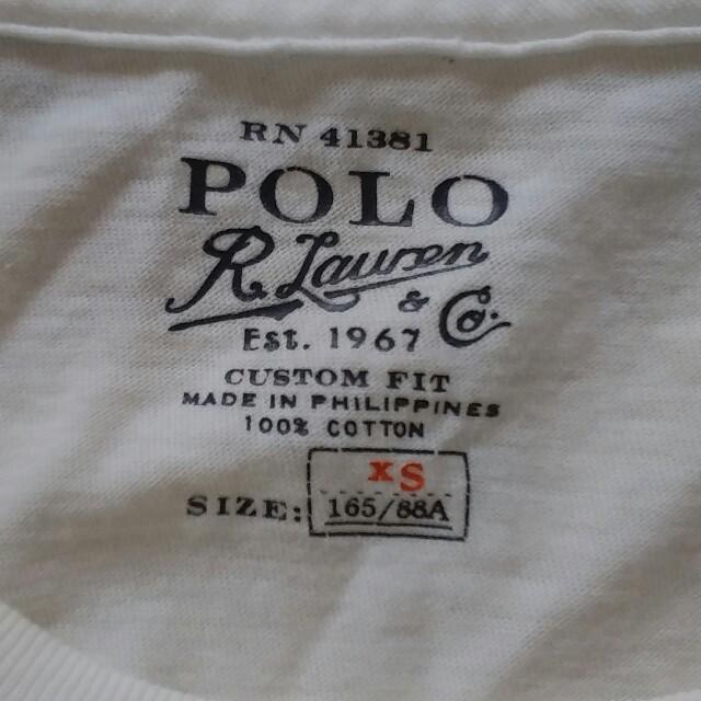 POLO RALPH LAUREN(ポロラルフローレン)のRALPH LAUREN半袖Tシャツ最終値下げ レディースのトップス(Tシャツ(半袖/袖なし))の商品写真