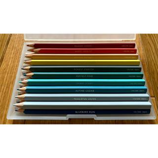 フェリシモ(FELISSIMO)のフェリシモ 500色 色鉛筆 NO181〜200(色鉛筆)