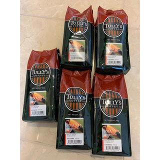 TULLY'S COFFEE - タリーズ コーヒー ファゼンダバウ 豆(粉) 5袋セット