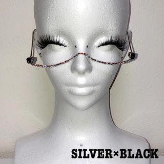 オーロラストーンワイヤーグラス(BLACK)(サングラス/メガネ)