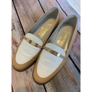 シャネル(CHANEL)のシャネル CHANEL 靴 ローファー 極美品 36 23センチ(ローファー/革靴)