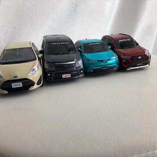 トヨタ(トヨタ)のTOYOTA  プルバック ミニカー 非売品(ミニカー)