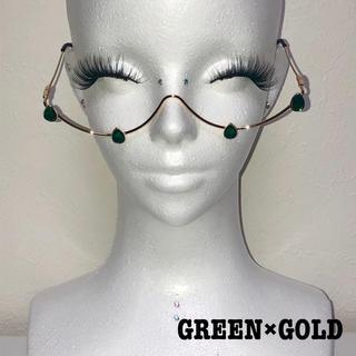 ドロップストーンワイヤーグラス(GREEN)(サングラス/メガネ)