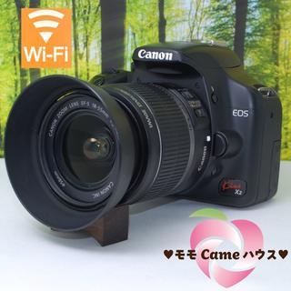 Canon - キヤノン Kiss X2☆スマホ転送OK☆入門一眼レフ♪965
