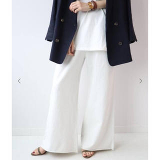 DEUXIEME CLASSE - 【新品】plage calux URAKE パンツ ホワイト
