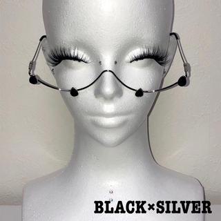 ドロップストーンワイヤーグラス(BLACK)(サングラス/メガネ)