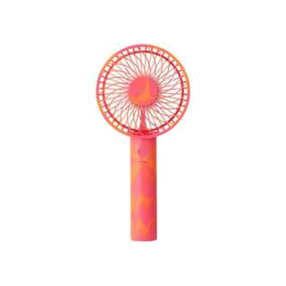 Francfranc - Francfranc ハンディファン フランフラン 扇風機 マーブルオレンジ