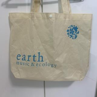 アースミュージックアンドエコロジー(earth music & ecology)のアースミュージック トートバッグ(ショップ袋)