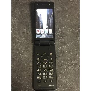 docomo ガラケー P-01F ブラック(携帯電話本体)