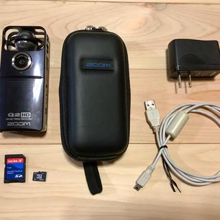 ズーム(Zoom)のZOOM Q2HD フルHD&高音質ハンディビデオレコーダー&SDカード付き!(その他)