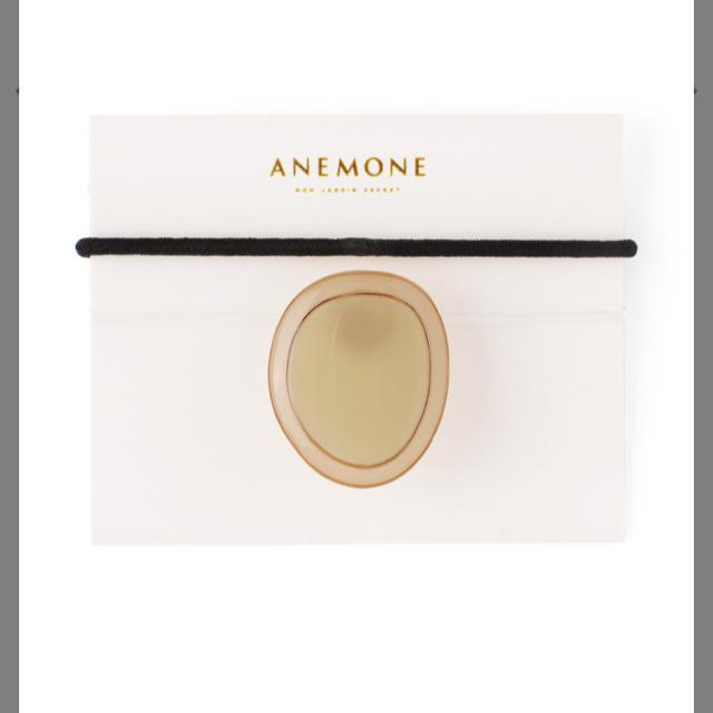 Ane Mone(アネモネ)の専用 アネモネ ANEMONE  つやつやプレートのオーバルポニーフック レディースのヘアアクセサリー(その他)の商品写真