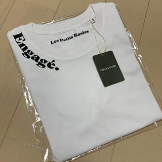 FREAK'S STORE - Les Petits Basics  ENGAGE NECKプリントTシャツ