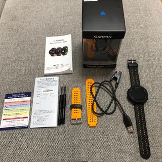 ガーミン(GARMIN)のGARMIN ForeAthlete® 235J  Black×Orange(腕時計(デジタル))
