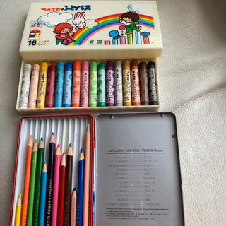 ぺんてる ふとパス みつびし鉛筆 色鉛筆 セット販売(クレヨン/パステル)