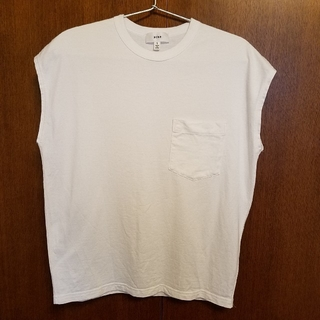 HYKE - HYKE Tシャツ フレンチスリーブ 白