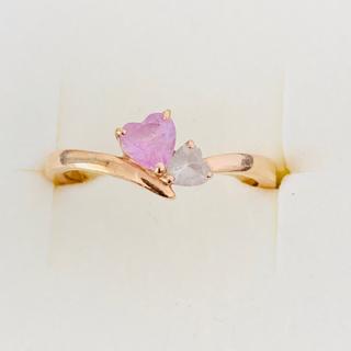 ヨンドシー(4℃)の4℃ ピンクゴールド指輪 K10   12号(リング(指輪))