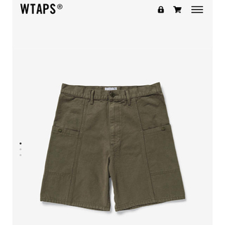 W)taps - WTAPS UDT SHORTS /SHORTS. COTTON. OXFORD