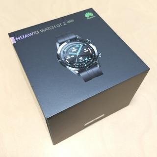 HUAWEI WATCH GT 2 46mm Sports マットブラック 新品(腕時計(デジタル))