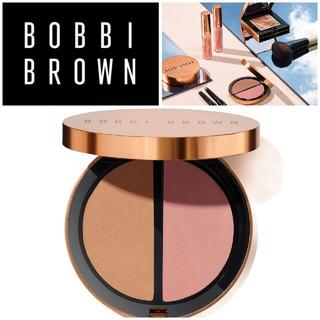 BOBBI BROWN - ボビイブラウン◆ブロンジングパウダーデュオ #ゴールデンライト