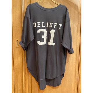 DEUXIEME CLASSE - Deuxieme Classe アメリカーナ バックヘンリーTシャツ