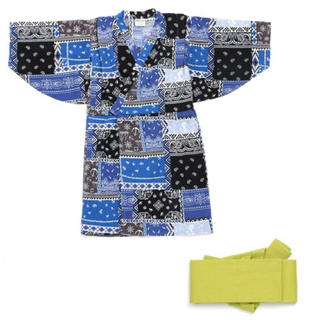 ブリーズ(BREEZE)の新品♡BREEZE♡バンダナ浴衣(甚平/浴衣)