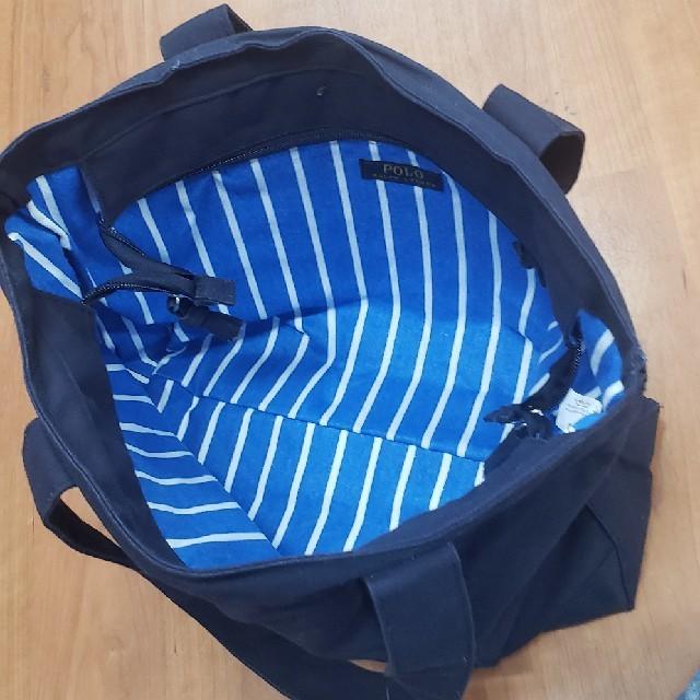 POLO RALPH LAUREN(ポロラルフローレン)のpiku様専用ポロラルフローレン トートバック 大型 ビックポニー未使用 レディースのバッグ(トートバッグ)の商品写真