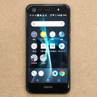 SHARP - softbank AQUOS Xx3 mini Black 16GB