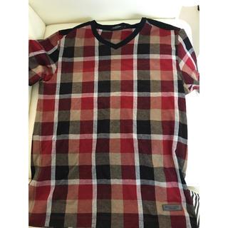 ブラックレーベルクレストブリッジ(BLACK LABEL CRESTBRIDGE)のブラックレーベル クリストブリッジ チェックT カットソー(Tシャツ/カットソー(半袖/袖なし))