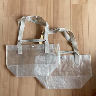 ムジルシリョウヒン(MUJI (無印良品))の無印良品 ポリエチレン ミニ トートバッグ 半透明 ×2点(トートバッグ)
