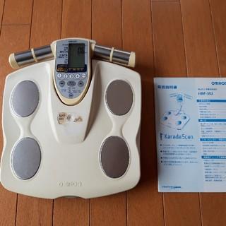 オムロン(OMRON)のオムロン 体重計 体脂肪計チェック ジャンク品(体重計/体脂肪計)
