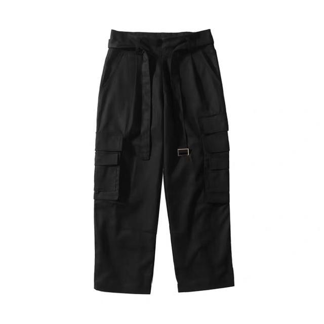 FEAR OF GOD(フィアオブゴッド)の新品 ブラック タクティカルパンツ カーゴ ミリタリー サルエル ポケット ベル メンズのパンツ(ワークパンツ/カーゴパンツ)の商品写真