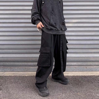 FEAR OF GOD - 新品 ブラック タクティカルパンツ カーゴ ミリタリー サルエル ポケット ベル