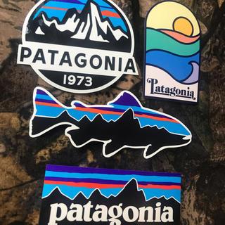 パタゴニア(patagonia)の★最新作★新品未使用 パタゴニア ステッカー4枚セット (その他)