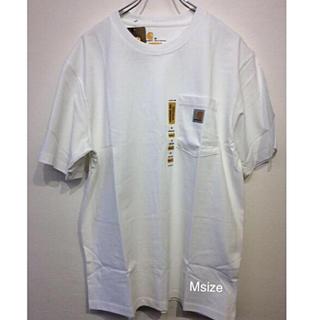 carhartt - カーハート tシャツ K87 WHITE M ポケットtシャツ