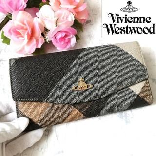 ヴィヴィアンウエストウッド(Vivienne Westwood)のヴィヴィアンウエストウッド♥財布♥長財布♥グレー系♥ 338(財布)