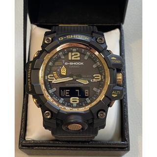 ジーショック(G-SHOCK)のカシオG-SHOCK GWG-1000GB-1AJFマッドマスター電波ソーラー (腕時計(デジタル))