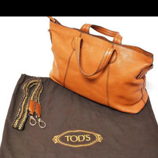 トッズ(TOD'S)のイタリア製 TOD'S トッズ レザートートバッグ 定価16万円(トートバッグ)