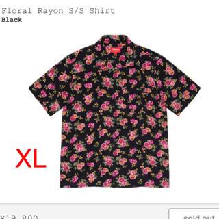 Supreme - Supreme Floral Rayon S/S Shirt XLサイズ
