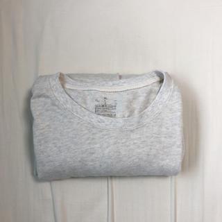 ムジルシリョウヒン(MUJI (無印良品))の新疆綿 天竺編み甘撚り長袖Tシャツ 紳士XL・オートミール(Tシャツ/カットソー(七分/長袖))