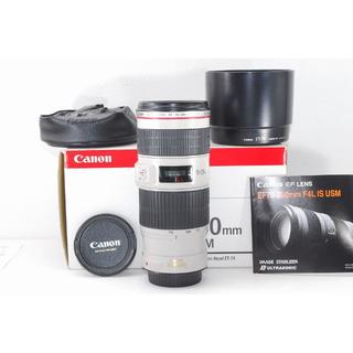 Canon - Canon EF70-200mm F4L IS USM キヤノン