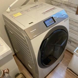 2019年タッチパネル操作のドラム式洗濯機乾燥機