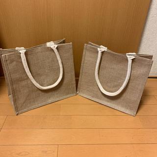 ムジルシリョウヒン(MUJI (無印良品))の新品未使用 無印良品 エコバッグ ジュードマイバッグ B5サイズ 2点(トートバッグ)