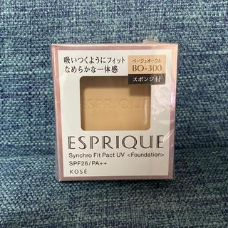 ESPRIQUE - 未開封 エスプリーク シンクロフィットパクトUV BO-300 ベージュオークル